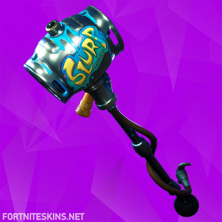 party animal pickaxe fortnite - fortnite slurp axe