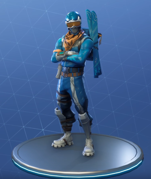 Fortnite Alpine Ace Skin