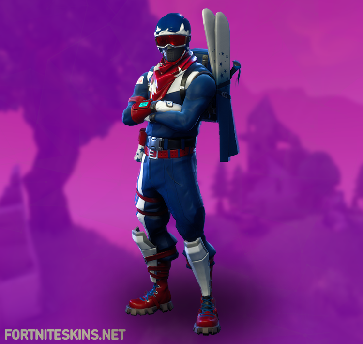 Fortnite Alpine Ace (USA) | Outfits - Fortnite Skins