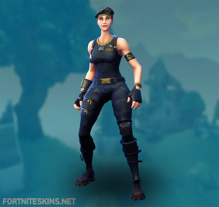 how to get blue outfit on fortnite pc