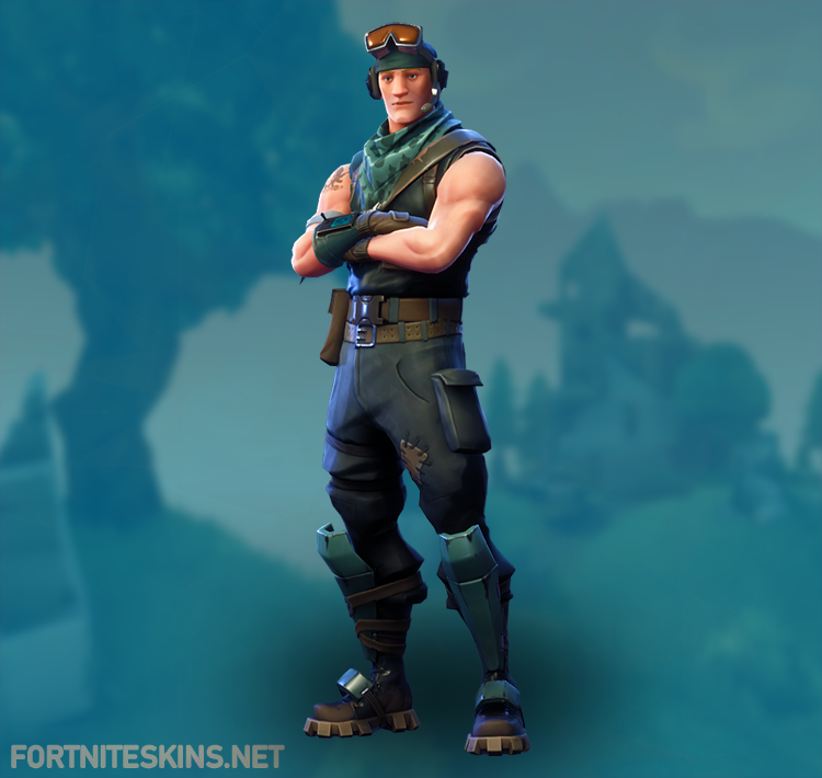 recon scout outfit hd