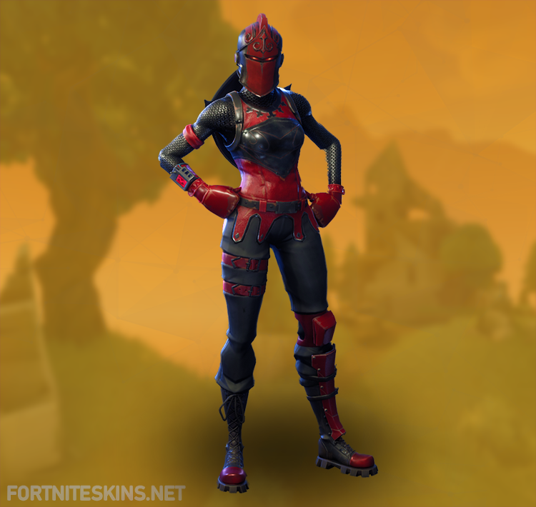 red knight outfit hd