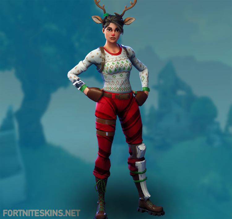red nosed raider outfit hd
