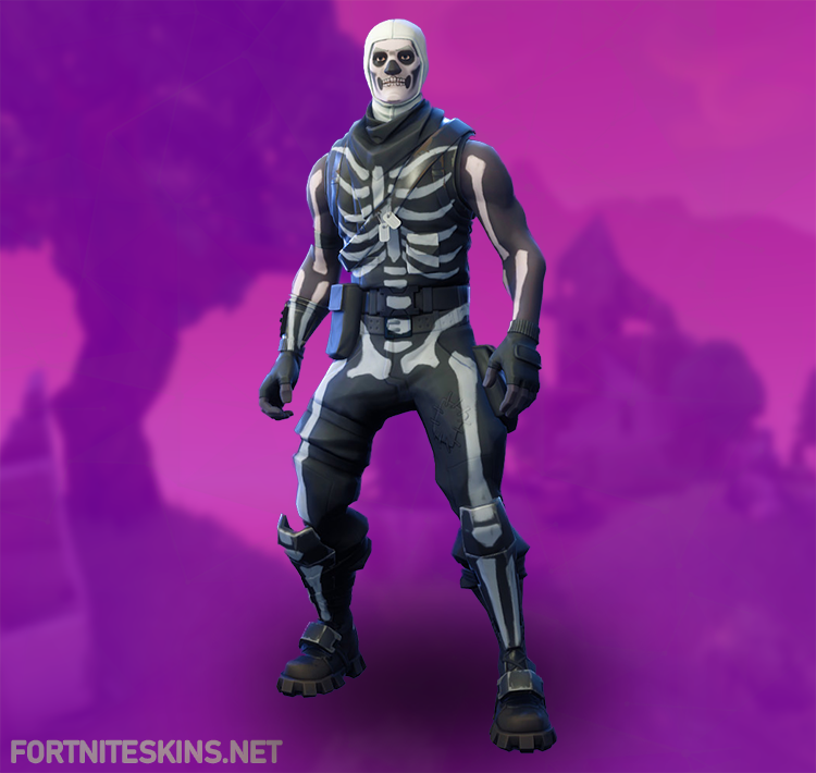 skull trooper outfit hd