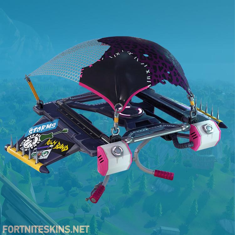 stage dive glider