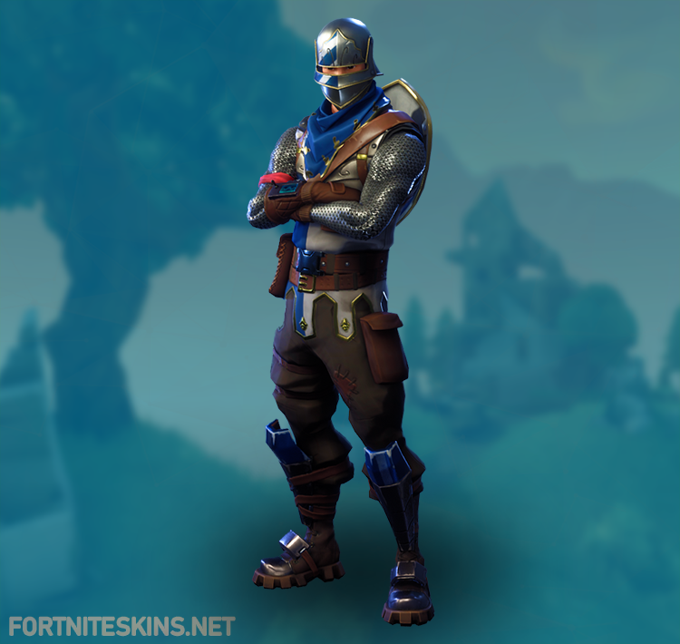 blue squire outfit