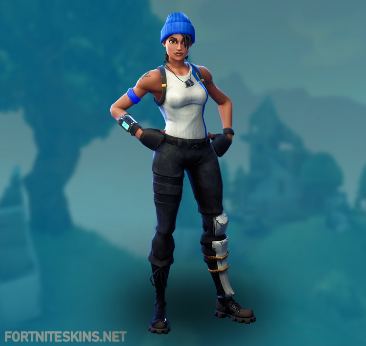 blue team leader outfit