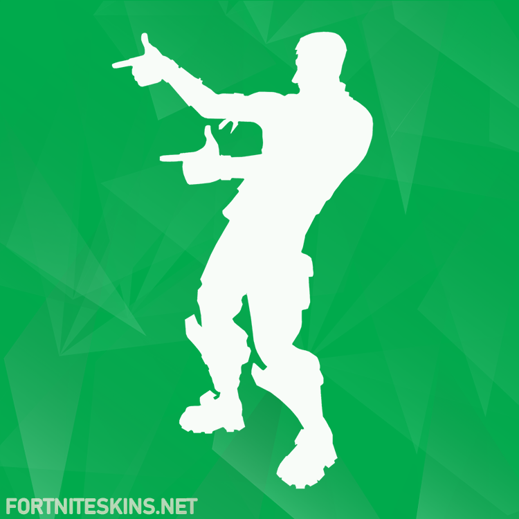 finger guns emote