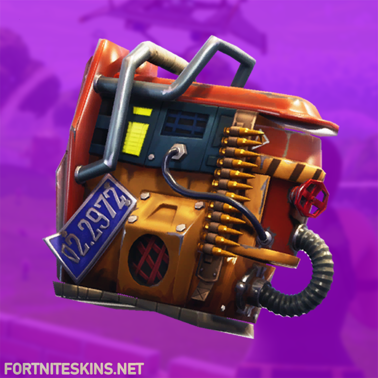 Rust Bucket Back Bling | Backpacks - Fortnite Skins