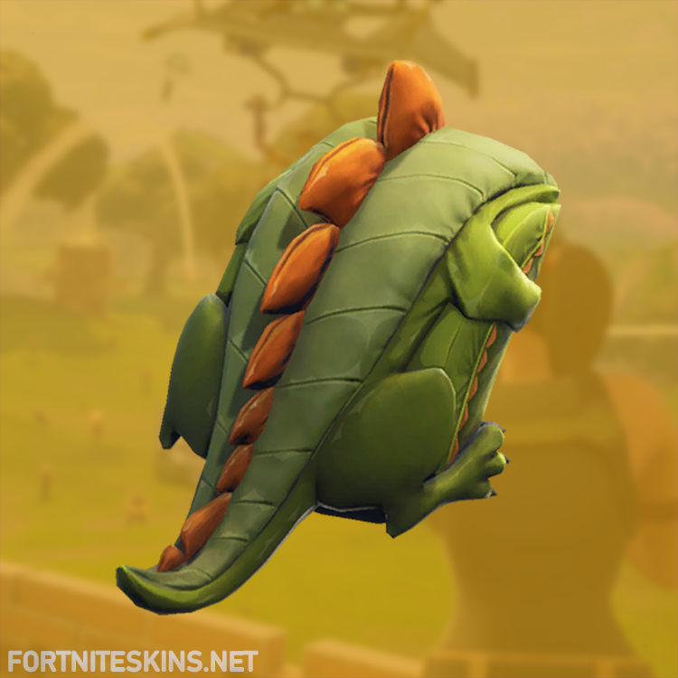 scaly backpack