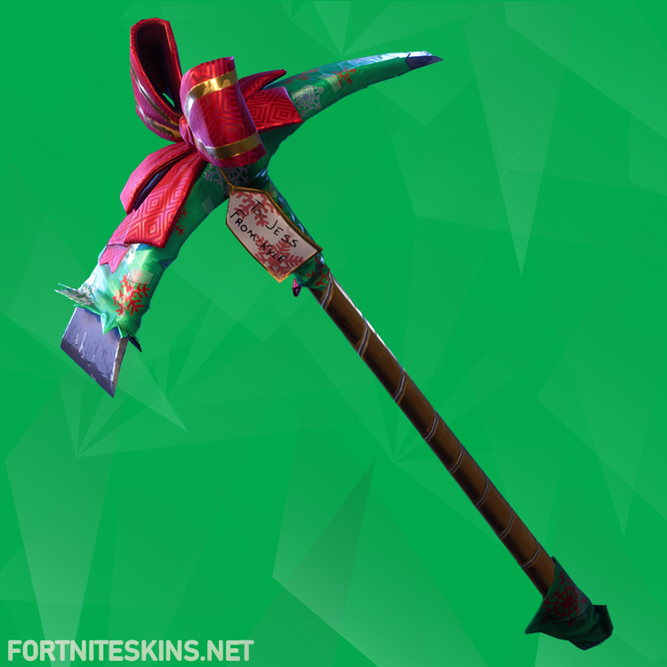 you shouldnt have pickaxe