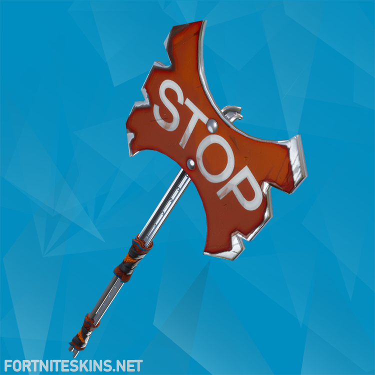 Stop Axe Harvesting Tool | Pickaxes - Fortnite Skins