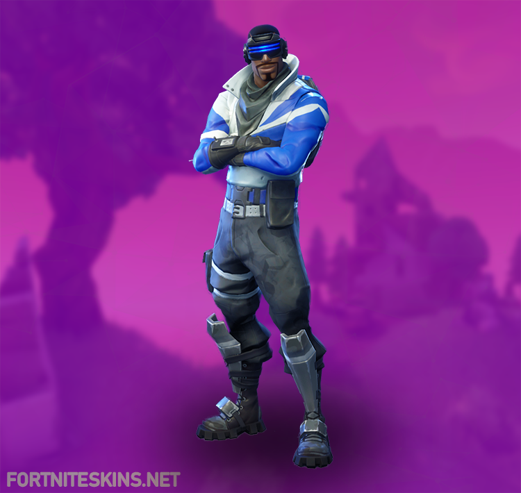 Fortnite Blue Striker Outfits Fortnite Skins
