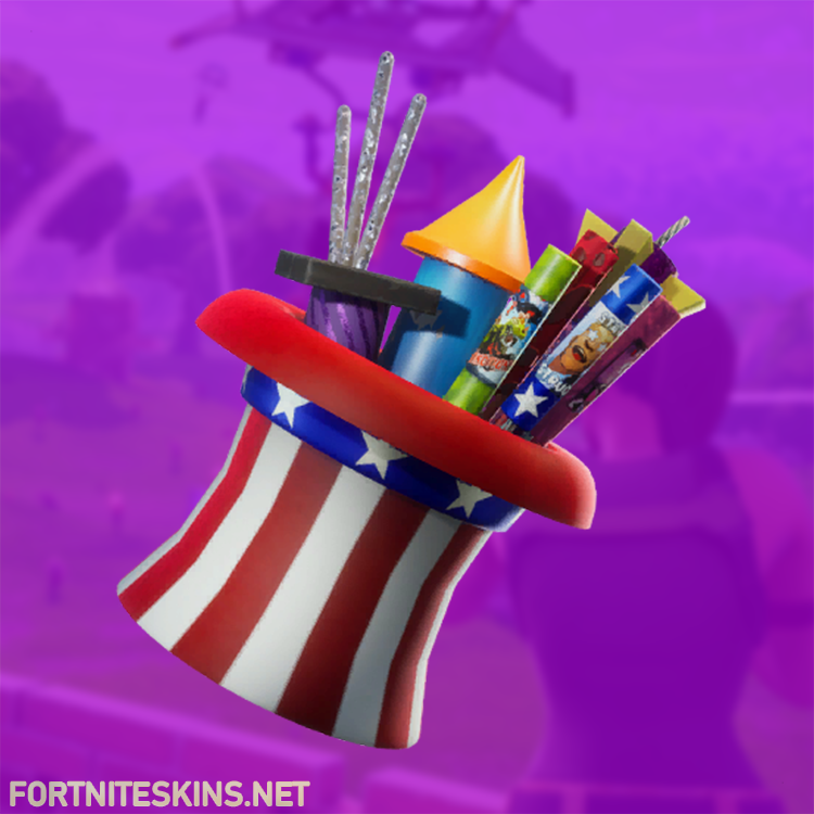 blasting cap back bling