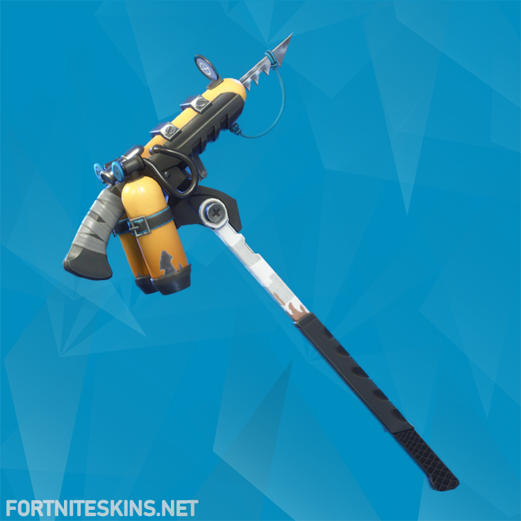 harpoon axe harvesting tool