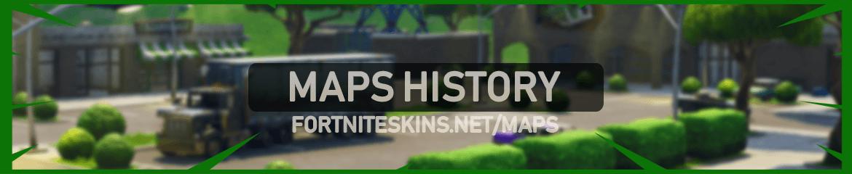 fortnite maps history