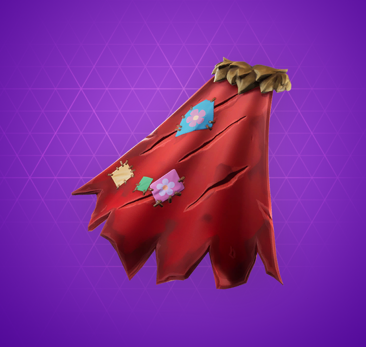 fabled cape back bling